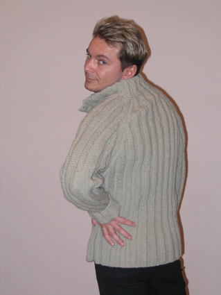 Модели мужских вязаных свитеров.